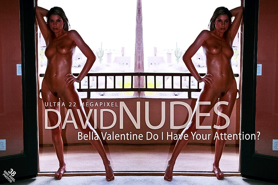 Bella Valentine Do I Have Your Attention David-Nudes