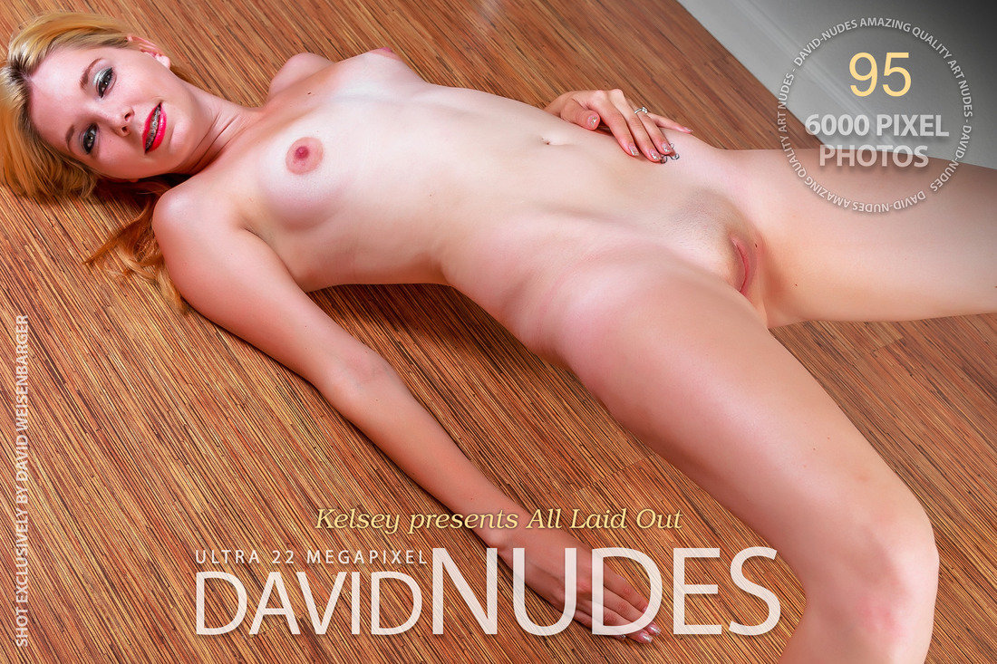 Kelsey presents All Laid Out David-Nudes