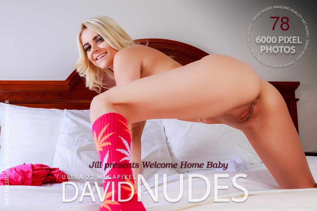 Jill presents Welcome Home Baby David-Nudes