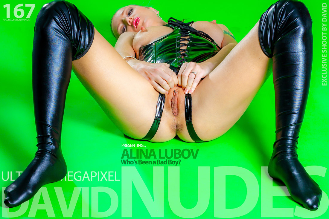 Alina Lubov presents  Who is a Bad Boy David-Nudes