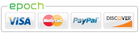 Paypal Now Accepted!! All major debit/credit as well!