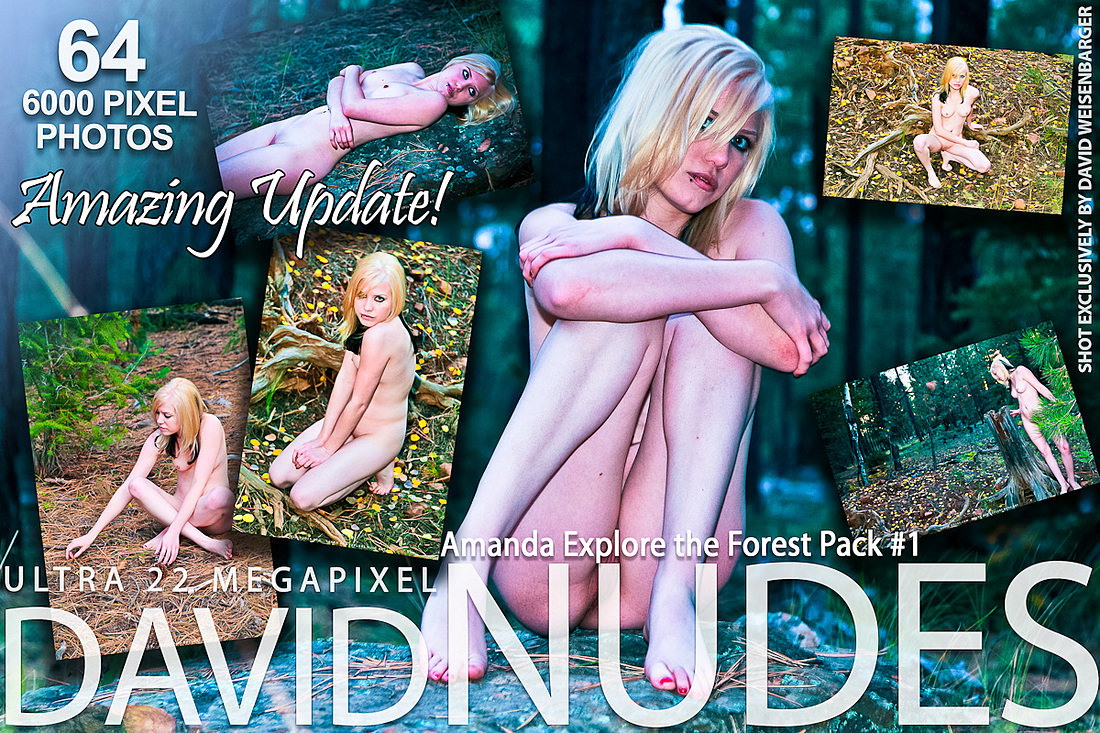 Amanda Explore the Forest Pack 1 David-Nudes
