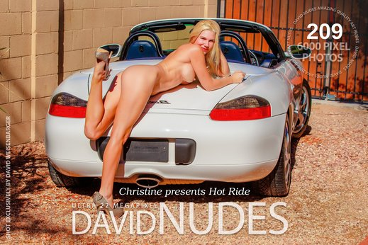 Christine presents Hot Ride