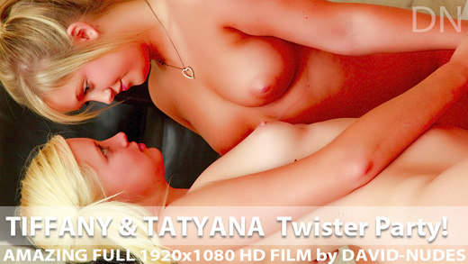 Play  Tiffany and Tatyana Twister Party