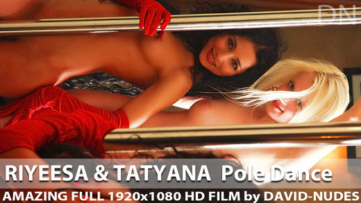 Play  Riyeesa and Tatyana Pole Dance