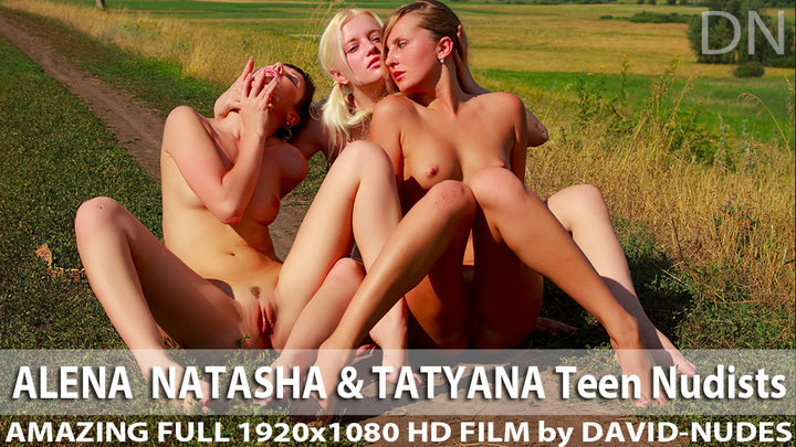 Alena Natasha Tatyana Teen Nudists