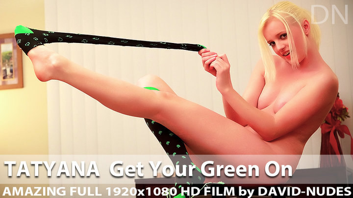Tatyana Get Your Green On