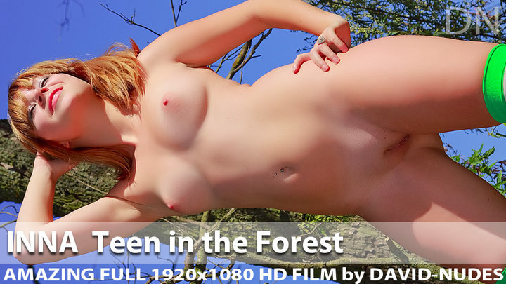 Inna Teen in the Forest