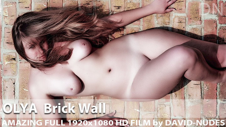 Olya Brick Wall Shoot