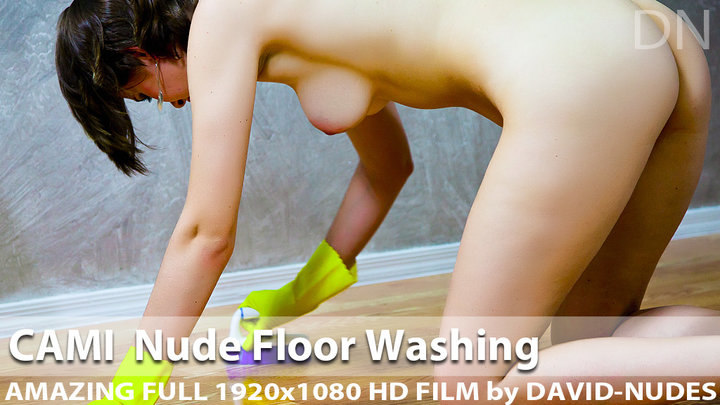 Cami Nude Floor Washing