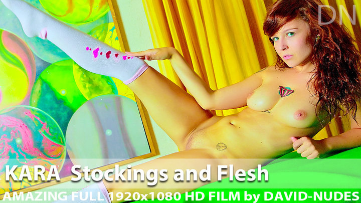 Kara Stockings and Flesh